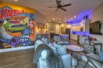 Martini Mountain Downtown - Living Area w/ Mural