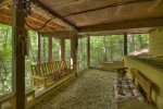 Timmers Treehouse - Lower Level Sitting Area