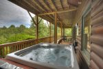 Amen Corner - Lower Level Deck Hot Tub