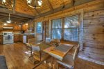 Ridgetop Pointaview - Entry Level Living Room / Dining Area