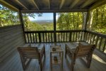 Ridgetop Pointaview - Upper Level Private Balcony
