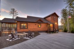 Painted Sunset Lodge - Mineral Bluff