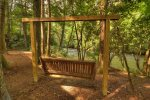 A Whitewater Retreat - Swinging Bench