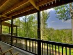 Blue Ridge Hideaway - Covered Porch
