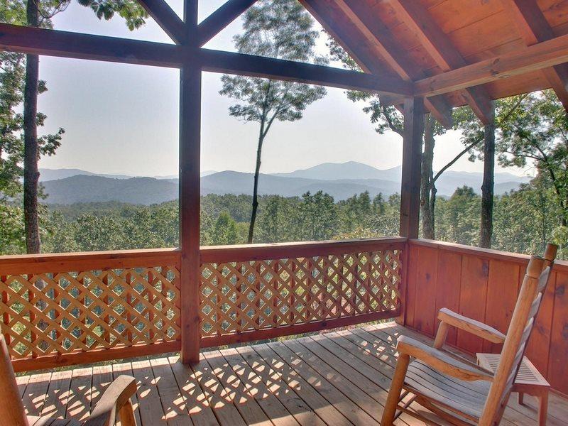 Grand View In Blue Ridge North Ga Cabin Rental