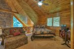 Above Raven Ridge - Upper Level Queen in Open Loft