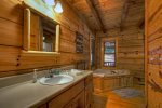 Dawg Paddle - Master Bathroom