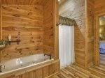 Bearly Roughing It - Master Bathroom