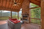 Bella Vista - Outdoor Fireplace and Seating