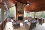 My Mountain Dream - Covered Outdoor Fireplace