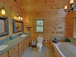 Above It All - Upper Level Master Bathroom w/ Jacuzzi
