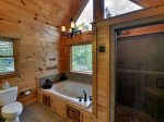 Above It All - Upper Level Master Bathroom w/ Walk-In Shower