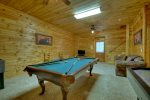 Laurel Ridge - Lower Level Pool Table
