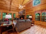 Babbling Brook - Dining Area w/ Seating for 8 and Outdoor Views