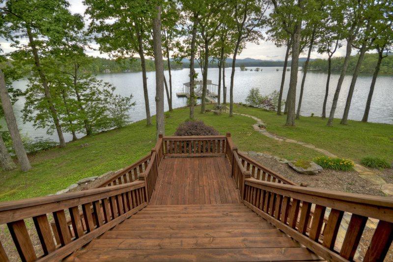 Blue Ridge Lake Retreat Vacation Rental On Lake Blue Ridge