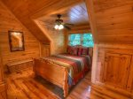 Celtic Clouds - Upper Level Queen Bedroom