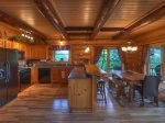 Celtic Clouds - Fully Equipped Kitchen and Dining Area