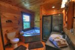 Papa Bear`s Den - Master Bathroom