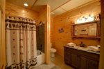 Papa Bear`s Den - Lower Level Bathroom