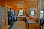 Papa Bear`s Den - Fully Equipped Kitchen