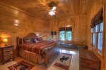 Medley Sunset Cove - Lower Level Queen Bedroom with Twin Bed