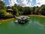 Medley Sunset Cove - Aerial View of Dock