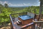 Heavens Step - Lower Hot Tub Deck