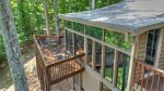 Heavens Step - Exterior of Sunroom and Upper Deck Area