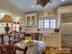 Exquisite Kitchen with Antique Furnishings