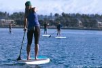 Paddleboards at the Aquatic Center