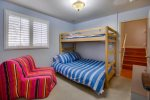 Bedroom 3 Full/twin bunk/futon with twin pull out chair