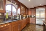 Beautiful solid hardwood cabinetry