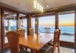 Oceanfront dining room