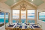 Dining for 6 with water views