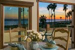 Perfect sunset dinners