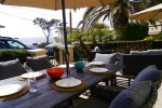 Vacation rental ocean view dining