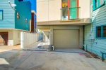 Enclosed car-port and one car garage for smaller vehicles - see listing for details