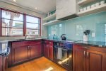 Beautiful kitchen with commercial-grade appliances