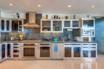 High-end stainless appliances