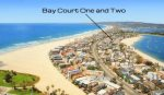 Awesome South Mission Beach location walking to Belmont Park, the local market and the beach. No car needed