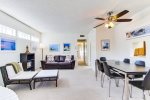 Newly Remodeled Living Room -  South Mission Beach, San Diego Vacation Home