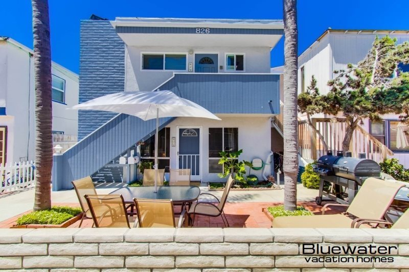 Superbe San Diego Vacation Rentals, Bay Court I Mission Beach Rental, Close To Ocean