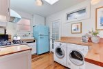 Alternate view of kitchen and washer/dryer