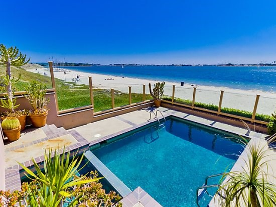 mission bay waterfront vacation rental