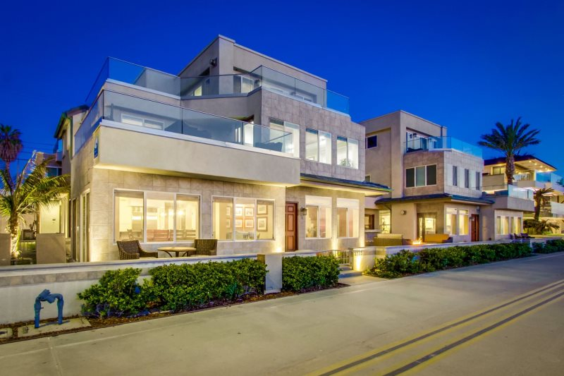 Bluewater Oceanfront 1 North   Mission Beach Vacation ...
