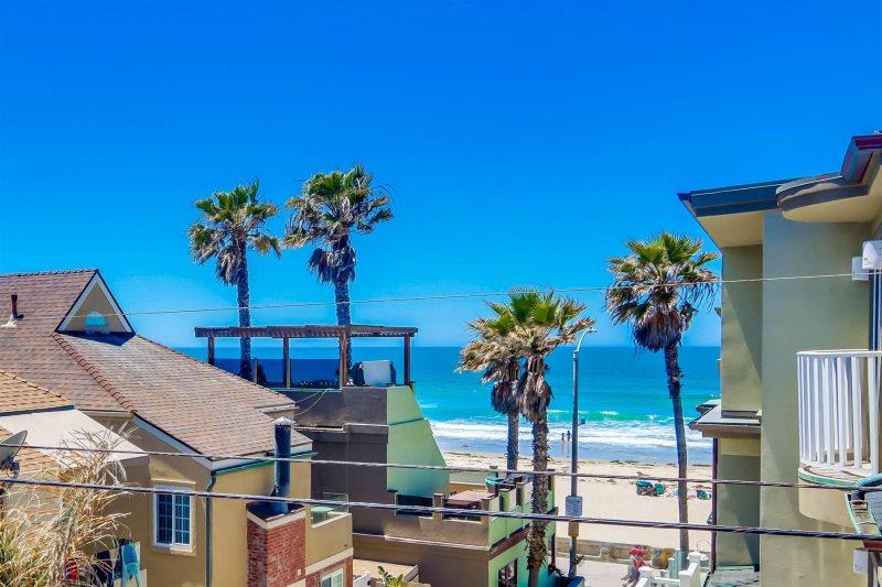 nautical beach house - mission beach vacation rental home