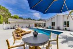 Pool and Deck in La Jolla Bluewater Vacation Rental