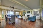 Open floor plans offers many options for gathering