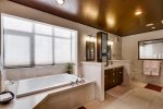 Luxurious guest bathroom