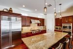 Chef`s Grade Kitchen - Granite Counter Tops and Stainless Appliances